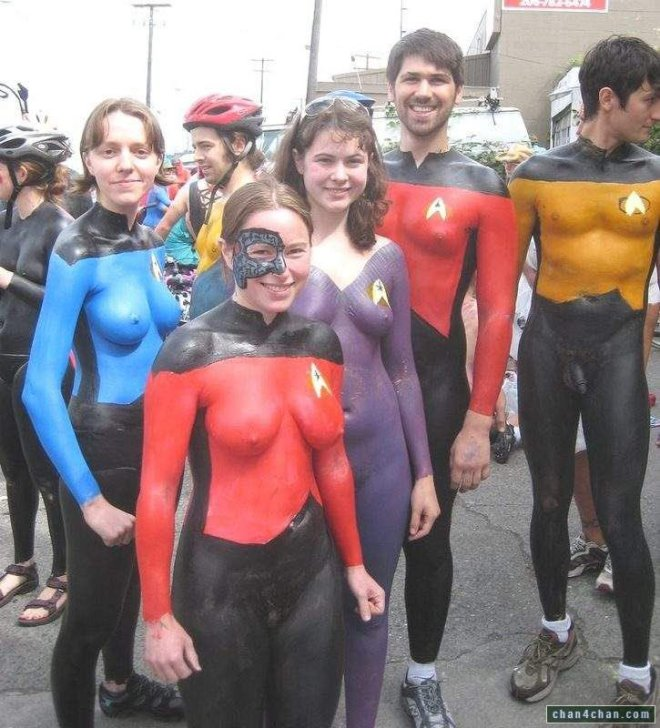 Star Trek - The Naked Generation